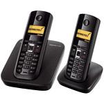 Siemens Gigaset A580 Duo - Téléphone sans fil DECT avec 1 combiné supplémentaire - Bonne affaire (article utilisé, garantie 2 mois)