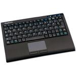 KeySonic ACK-340RF+ - Clavier super mini avec TouchPad (AZERTY, Français)