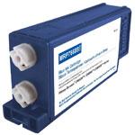 Cartouche compatible 766-8 / 767-8 (Bleu fluorescent) - Pour machine à affranchir PITNEY BOWES ou SECAP