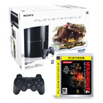 Sony PlayStation 3 Pack MotorStorm Pacific Rift (80 Go) + Metal Gear Solid 4 Platinum + Sony DualShock 3