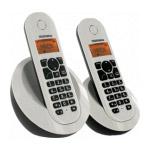 TELEFUNKEN DECT TB102 - Téléphone sans fil DECT + combiné supplémentaire (coloris blanc)