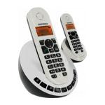 TELEFUNKEN DECT TB152 - Téléphone sans fil DECT avec répondeur + combiné supplémentaire (version française)