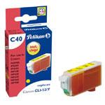 Pelikan cartouche compatible CLI-521Y (Jaune)