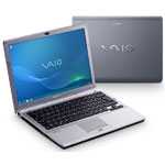 "Sony VAIO SR59VG/H - Intel Core 2 Duo P8700 4 Go 500 Go 13.3"" LCD Graveur DVD Wi-Fi N/Bluetooth Webcam Windows 7 Professionnel 64 bits"