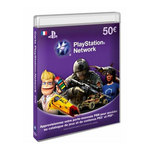 Sony Livecards PlayStation Network 50€ (PS4/PS3/PSP/PS Vita)