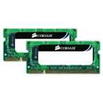 Kit Dual Channel RAM SO-DIMM DDR3 PC10600 - CMSO4GX3M2A1333C9 (garantie 10 ans par Corsair)