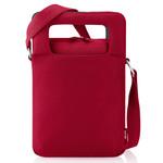 Sacoche à bandoulière pour netbook (coloris rouge)