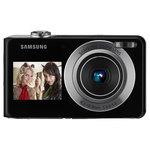 Samsung PL101 argent / noir + Carte mémoire 2 Go + Etui