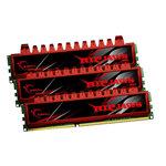G.Skill RL Series RipJaws 12 Go (kit 3x 4 Go) DDR3-SDRAM PC3-12800 - F3-12800CL9T-12GBRL (garantie 10 ans par G.Skill)