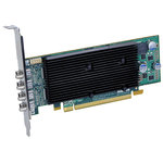 Carte graphique Quad-Display 1 Go Low Profile sur port PCI Express x16 (4 sorties DisplayPort)