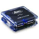 Advance HUB-904U - Hub 4 ports USB 2.0 noir (alimentation externe)