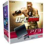 Sony PlayStation 3 Slim 250 Go Pack UFC Undisputed 2010