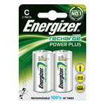 Pack de 2 piles rechargeables C (HR14) 2500 mAh