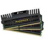 Kit Triple Channel RAM DDR3 PC12800 - CMZ12GX3M3A1600C9 (garantie 10 ans par Corsair)