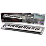 Clavier M-Audio KeyStudio à 49 touches dynamiques + logiciel Pro Tools SE