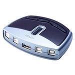Commutateur pour périphérique USB 2.0 (4 ports)