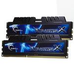 G.Skill XH Series RipJaws X Series 4 Go (kit 2x 2 Go) DDR3-SDRAM PC3-10600 - F3-10666CL7D-4GBXH (garantie 10 ans par G.Skill)