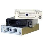 ICY BOX IB-138SK-II-B - Tiroir de Rack pour disque dur Serial ATA (noir)