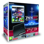 Sony PlayStation 3 Slim 320 Go Pack PES 2011 : Pro Evolution Soccer 2011 - Bonne affaire (article utilisé, garantie 2 mois)