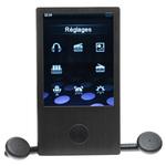 """NEO Qyu Touch - Lecteur MP3 vidéo 4 Go Ecran tactile 2,8"""" FM"""