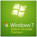 Microsoft Windows 7 Édition Familiale Premium SP1 OEM 32 bits (français)