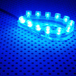 Lamptron FlexLight 12 LEDs (bleu)