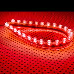 Lamptron FlexLight 24 LEDs (rouge)
