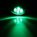 Lamptron Lazer LED verte (4 LEDs)