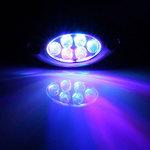 Lamptron Lazer LED bleu (6 LEDs)