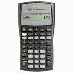 Texas Intruments BA II Plus - Calculatrice financière