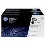 HP Q7553XD - Lot de 2 Toners Noir 53X (7 000 pages à 5%)