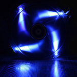 BitFenix Spectre LED 230 mm Bleu - Ventilateur LED 230 mm