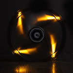 BitFenix Spectre LED 230 mm Orange - Ventilateur LED 230 mm