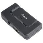 """Akasa AK-AU3-01BK - Adaptateur USB 3.0 pour disque dur 2.5""""/3.5"""" et SSD SATA"""