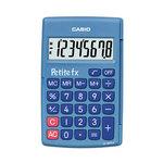 Casio Petite FX Bleu - Calculatrice de poche du CP au CE2