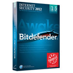 Bitdefender Internet Security 2012 - Licence 1 an 3 postes (français, WINDOWS)