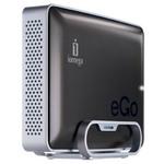 """Iomega eGo 2 To - Disque dur externe 3.5""""  USB 3.0 - Gris Anthracite - Bonne affaire (article utilisé, garantie 2 mois)"""