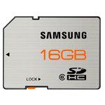 Samsung SDHC 16 Go - Carte mémoire classe 6 étanche et insensible aux aimants