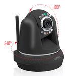 Caméra réseau motorisée (Ethernet, Wi-Fi b/g)