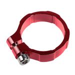 Lamptron - Collier de serrage 19 mm Rouge