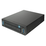 """Rack pour disque dur 2.5"""" Serial ATA dans baie 3.5"""" (avec 2 ports USB 3.0)"""