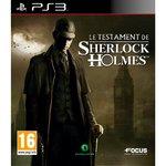 Le Testament de Sherlock Holmes (PS3)