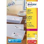 Avery Etiquettes adresses Faciles à décoller - boite de 2100 étiquettes