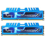 Kit Dual Channel DDR3 PC3-12800 - F3-1600C9D-16GXM (garantie à vie par G.Skill)
