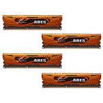 Kit Quad Channel DDR3 PC3-10600 - F3-1333C9Q-16GAO (garantie à vie par G.Skill)