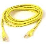 Câble RJ45 catégorie 5e UTP 0.5 m (Jaune)