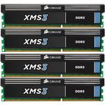 Kit Dual Channel 4 barrettes de RAM DDR3 PC12800- CMX32GX3M4A1600C11 (garantie à vie par Corsair)