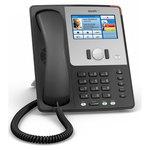 Téléphone professionnel pour VoIP PoE (2 ports Ethernet)