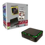 Console PlayStation 3 Slim 320 Go avec 2 jeux + Boîtier d'acquisition vidéo matérielle Haute Définition