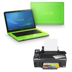 PC Portable (offre spéciale : Imprimante Multifonction pour 1€ de plus)